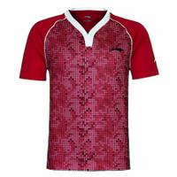 Jersey baju kaos olahraga badminton tenis meja Lining impor OTK 1