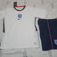 Jersey Baju Bola Timnas Inggris England Home 1 Satu Stel Set 2021 2022