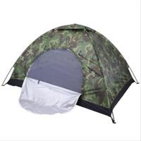 Tenda dome camping camo loreng 2- orang murahh