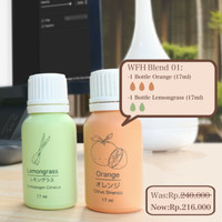 Paket Essential Oils Work from Home WFH01 Mood & Concentration Booster