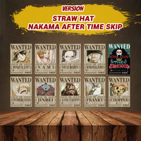 Poster Anime Bounty One Piece - Wanted Poster One Piece Paket