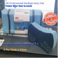3M Professional Medium Duty Pad - Power Blue Non Scratch - Sabut Cuci
