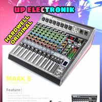 Hardwell Mixer Audio Mark 8 Original Hardwell 8 Channel New