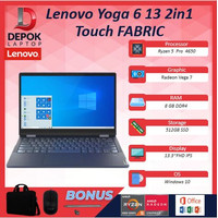 Lenovo Yoga 6 13 2in1 Touch FABRIC R5 Pro 4650 16GB 512ssd Vega7 + OHS