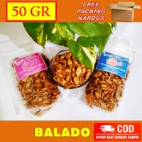 Ikan Pepetek Crispy / Baby Fish Crispy 50 gram - BALADO - BALADO