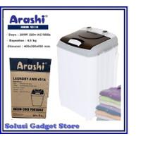 Mesin Cuci Portable ARASHI AWM 451A 1 tabung