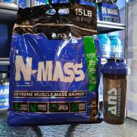 BPOM ANS N-MASS N MASS Gainer 15lb penambah berat gainer terbaik
