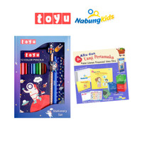 [Paket Bundling] Toyu Set Stationery + NabungKids Full Paket