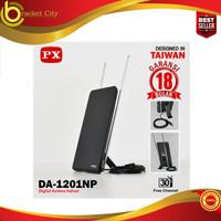 Antena TV Digital Analog PX DA-1201NP Indoor + Kabel