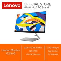"Lenovo Monitor Q24i-10 23.8"" IPS Speaker 3W X 2 1000:1"