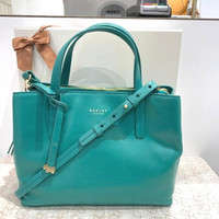 Tas Radley London Kulit Medium Multiway Handbag Green BNWT ori from UK