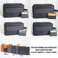 TAS TANGAN PRIA CLUTCH HAND BAG POUCH TAS GADGET WATERPROOF ORIGINAL