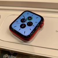Apple Watch Series 6 44mm Mulus Likenew Fullset ori baru aktif 1 bulan