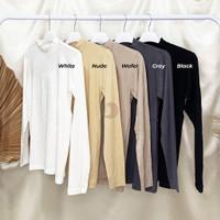Manset baju jersey premium / manset remaja - Cream / warna kulit
