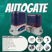 Autogate Sliding atau mesin pembuka pagar otomatis