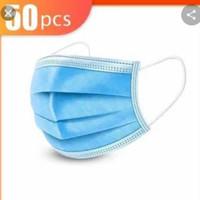 Masker medis earloop 3ly/masker mulut 3lapis anti debu anti virus