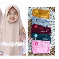 Flowly Hijab 2-5 Thn - Kerudung Instan Bergo Anak Muslim