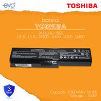 BATERAI TOSHIBA PA3634 L310 L510 L515 M300 M305 U400
