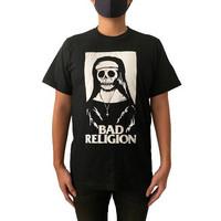 KAOS BAND/KAOS BAND METAL/BAND TSHIRT/KAOS MURAH/KAOS BAD RELIGION - M