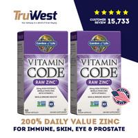 Garden of Life Vitamin Code RAW Zinc with vitamin C, 60 Vegan Capsules