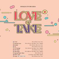 PENTAGON - LOVE or TAKE Mini Album Vol.11 [ ORIGINAL KPOP ALBUM ]