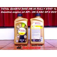 TOTAL QUARTZ 9000 FUTURE GF5 5W-30 5W30 Fully Synthetic OLI MOBIL 1L