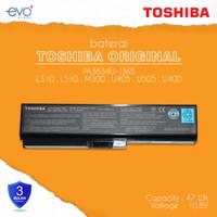 BATERAI TOSHIBA 3634 L310 L510 L515 M300 M305 U400 PA3634 ORI