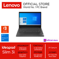 Lenovo IdeaPad Slim 3 Core i5-1035G1 4GB 512 SSD Win10 OHS