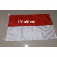 Grosir Bendera Indonesia Merah Putih Bahan Katun Tebal 80x120 cm