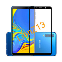 Tempered Glass Full Cover Samsung A7 2018 5D / 9D Anti Gores Kaca