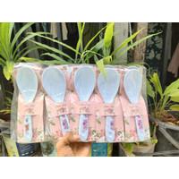 Souvenir Pernikahan Centong Nasi Melamin Kemasan Plastik dan Label