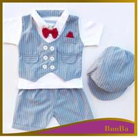 Setelan Premium Keren Baju Anak Bayi Laki 0- 6 Bulan Maxwell Tuxedo
