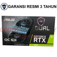 ASUS GeForce RTX 2060 DUAL OC 6GB GDDR6 192 BIT