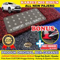Karpet Mobil Mie Bihun PAJERO SPORT Non Bagasi - Bahan 1 Warna