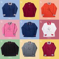 Kaos Kerah Lengan Panjang/Kaos Polo Pria/Polo Shirt Pria/Kaos Kerah