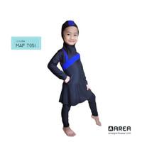 Baju renang anak TK muslimah 2 - 6 tahun