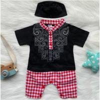 baju koko bayi - baju muslim bayi newborn - baju akikah bayi