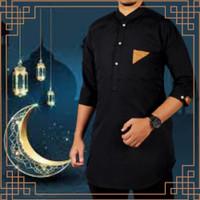 Baju Busana Koko Muslim Al Faruq Cowok Pria Besar Bigsize Jumbo