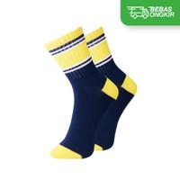 Kaos Kaki Casual Anak Premium Organic Cotton - Kaia Socks Stripe Motif