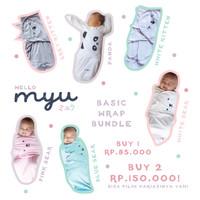 HELLO MYU Instant wrap / Bedong Instan Model Basic