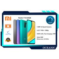 Xiaomi Redmi 9 4/64 4GB ROM 64GB Garansi resmi