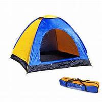 Tenda Camping Gunung Mendaki Dome Loreng Camo 4 ORANG 200cm X 200cm -