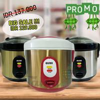 Magic Com / Rice Cooker Mini OISHI RC-1035 / Mini Rice Cooker - Emas - Hitam