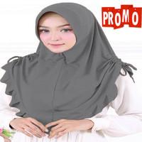Hijab jilbab bergo instan jersey kariim