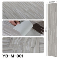 Vinyl Flooring 2.0mm Lantai Parket PVC Stiker Tebal Motif Kayu Premium
