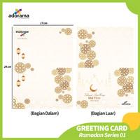 Paket Custom Kartu Ucapan / Greeting Card Lebaran - Termasuk Amplop