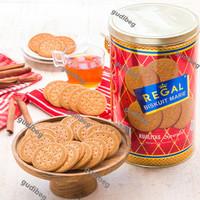 Biskuit Marie Regal Kaleng Spesial 1 Kg 1000 gr