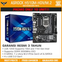 ASROCK H510M-HDV/M.2 LGA 1200 mATX NVMe DDR4 MOTHERBOARD INTEL GEN 11
