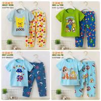 Baju Tidur Anak / Setelan Anak / Piyama Import Anak Laki Laki PDK-PJG