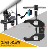 C-Clamp SUPER Clamping for Magic Arm - Camera Camcorder LCD Monitor